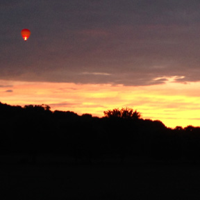Dawn Patrol hot air balloon