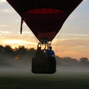 hot air balloon nashville tn launch